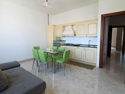 Photo for Casa Vacanza Giotto apartment in Matino with private parking, private roof terrace & balcony.