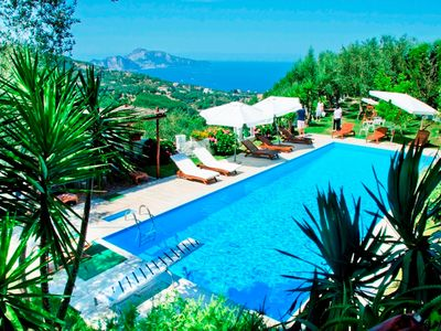 Photo for Luxury-villa-sea view- private swimming pool-gym-sauna-biliard room