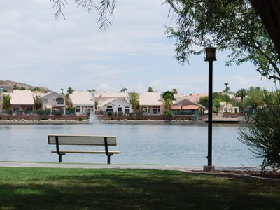 Photo for Lakeside, Poolside, Model-Furnished Condo