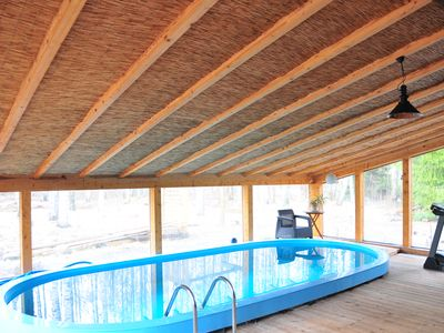 Wintergarten Mit Pool house with swimming pool and at the 2622219