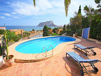 Photo for Vacation home Carolina  in Calpe/ Calp, Costa Blanca - 6 persons, 3 bedrooms