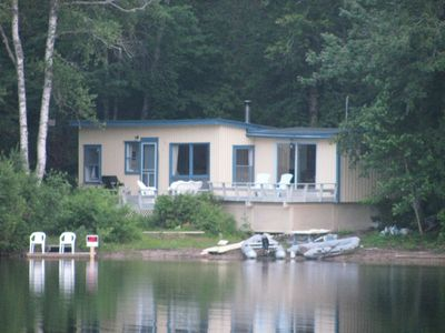 Nutkin Cottage from Donnell's Pond