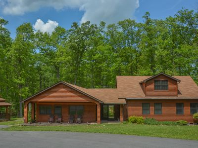 Photo for Only 2 miles to Wisp Resort with Great Outdoor Living Spaces!