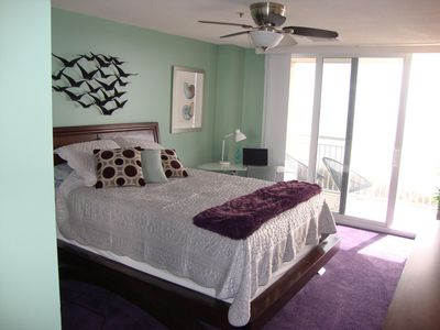 Photo for AWESOME NORTH & SOUTH OCEAN VIEW, WIFI, FULLY EQUIPPED KITCHEN, DESIGNER COLORS