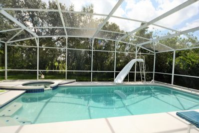 The Most Por 4 Bedroom Pool Home With Water Slide Eagle Pointe South
