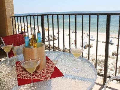 """Photo for 4th floor, Beautiful Beach View from Balcony, 3D 55"""" Smart TV"""