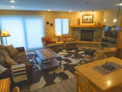 Photo for Ski in / ski out Crested Mountain condo located at Crested Butte's base area!
