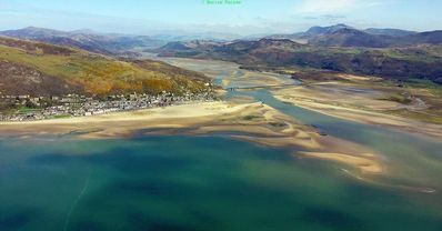 Photo for Historic beachfront house , two floor apartment  scenery  of southern Snowdonia