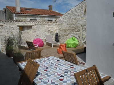 Photo for House on the island of Oleron full of charm for 5 people.