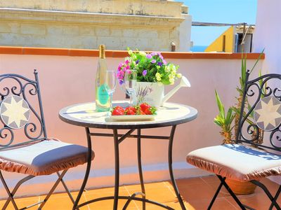 Photo for Ortigia A terrace for two