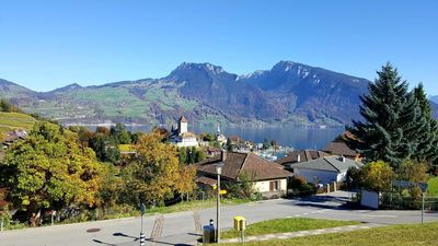 Photo for Apartment Spiez for 6 - 14 people with 4 bedrooms - Penthouse apartment