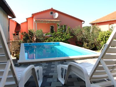 Photo for Apartment with Pool in Tisno Near the Festival Site