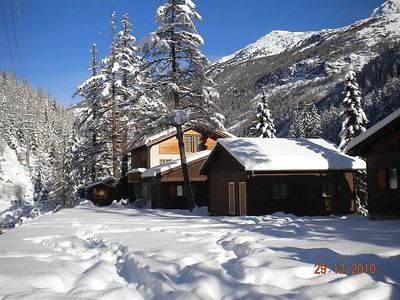 Photo for Apartment Chaletpark Residenz Edelweiss in Saas-Balen - 4 persons, 2 bedrooms