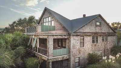 1 Shirley Road - A Truly Original Home on Tybee Island - Panoramic View.