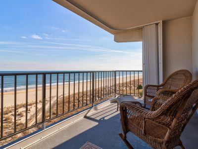 Photo for NEW LISTING! Beautiful oceanfront condo w/balcony, shared pool & amazing views