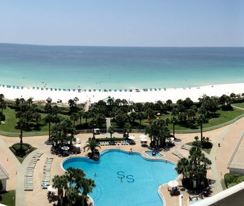 Photo for Gorgeous Ocean Views!  3 Bdrm12th Floor Unit At Silver Shells Resort