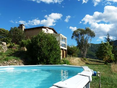 Photo for Detached holiday home (120 m2) in a beautiful location, with breathtaking view