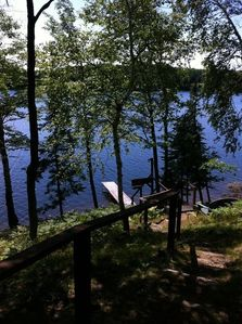 Photo for Private and Peaceful Lakefront Home on Lindsley Lake on the Cisco Chain of Lakes