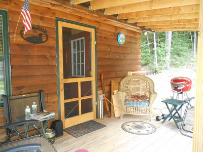 Photo for A Wonderful 1 Bedroom Cozy Cabin With A Loft In The Lakes Region!