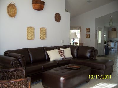Newly decorated Lounge