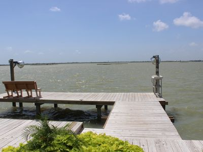 Photo for Beautiful New Waterfront Home with a Pool & Boat Slip