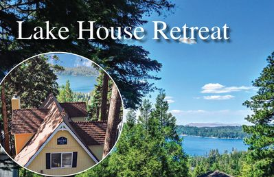 Photo for Brilliant Lake Views! Historic Blue Bay Lodge, Lake pass, Boat*