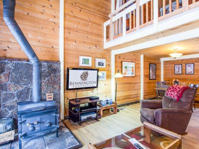 Photo for Cozy & Affordable Mountain Cabin Close to Deschutes River - CLUS12