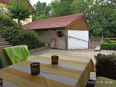 Photo for Holiday apartment Wilhermsdorf for 2 - 4 persons with 2 bedrooms - Holiday apartment in a villa