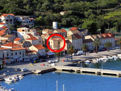 Photo for Apartment in Vis (Vis), capacity 4+1