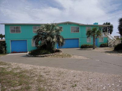 Photo for Beachfront 4 bedroom-4 bath  2 level home with pool on beachside.