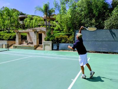 Photo for 5-star LUXURY RESORT:TENNIS, POOL, PICKLEBALL, SPA on private 3 acre Estate