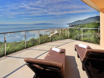 """Photo for Penthouse """"Millennium"""" (160 m2) with two terraces and absolutely fantastic views"""