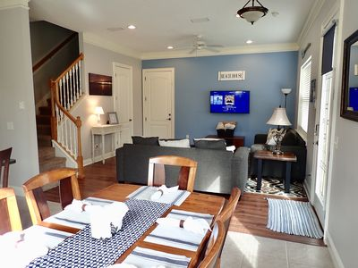 Photo for NEW! Comfy 3BR/2.5BA townhome blocks to the beach!