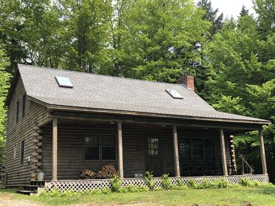 Photo for Mt. Snow/Stratton Log Cabin in the Woods