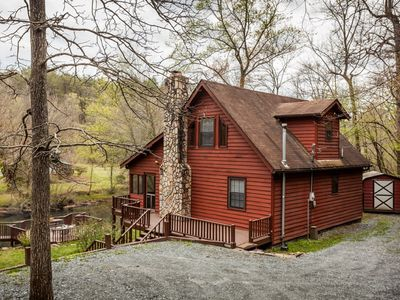 Nanny's Shanty - Relaxing River Cabin