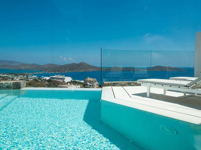 Photo for Gordon Junior Suite, in luxury complex in Crete, with private pool, 1 bedroom, 2 sleeps