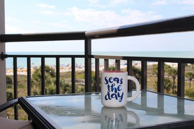Picture having your morning coffee hear.