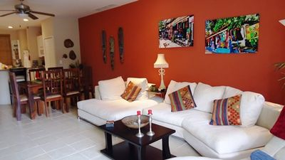 Photo for Pacifico L511 - Gorgeous 2 BR, 2 Bath Custom Decorated Pool View Condo