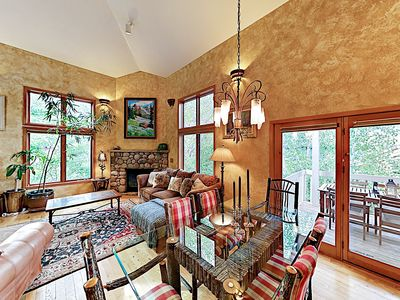 Photo for New Listing! Luxe Getaway w/ Patio, Hot Tub & Backyard