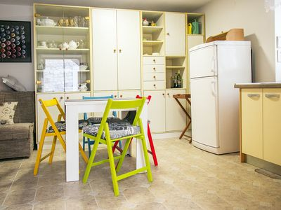 Photo for Apt for 4 only 60 meters from the Beach