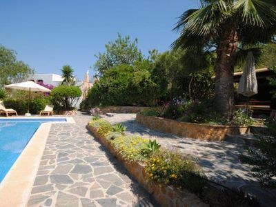 Photo for 5 bedroom Villa, sleeps 8 in Ses Paisses with Pool, Air Con and WiFi