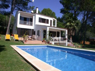 Photo for Lovely Villa with enormous garden near the beach at Tamariu and close to Begur