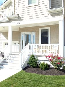 Photo for TOWNHOME STEPS TO THE BEACH & BEACH VIEW - NO 2019 RESERVATIONS TAKEN UNTIL JAN.