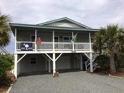 "Photo for ""IDLE HOUR"" 2 HOMES FROM BEACH ACCESS, SAVOR OCEAN BREEZES (2nd ROW)"