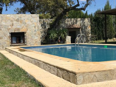 Photo for Detached cottage near Ronda w private  pool, Wifi, parking