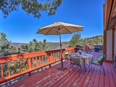 Photo for Running Springs Cabin w/ Deck & Mtn. Views!
