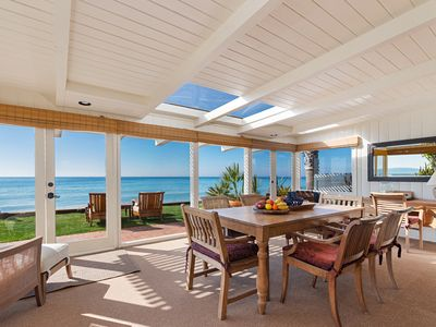 Photo for Luxury Country Cottage on Private Beach