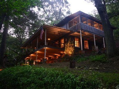 Photo for Beautifully Restored Historic Mountain Cabin-A Tree House in the Woods w/wifi