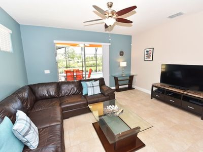 Photo for Luxury on a budget - Solterra Resort - Beautiful Relaxing 5 Beds 4 Baths Villa - 7 Miles To Disney