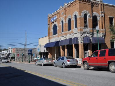 Photo for Perfect view of Downtown Siloam Springs